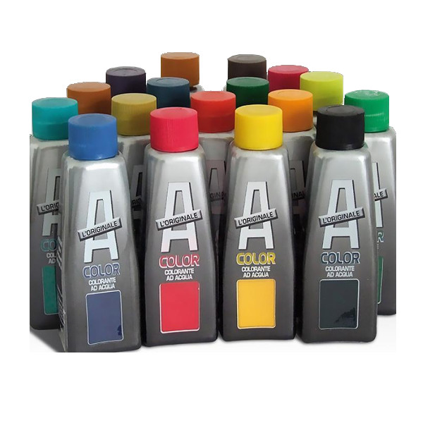 Vip acolor ml.50 colorante per pitture 04 nero.