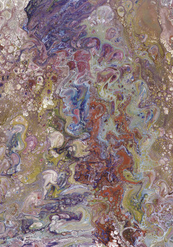 Minerale multicolore pannello panoramico decorativo materiali colorati ENCC 84585546 ENCYCLOPEDIA 2..