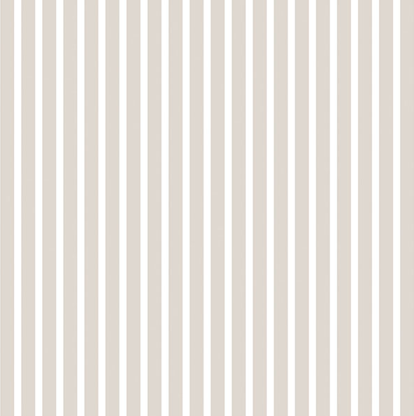 Parato rigato tortora e bianco design contemporaneo elegante in vinilico lavabile G67542 Smart Stripes 2. .