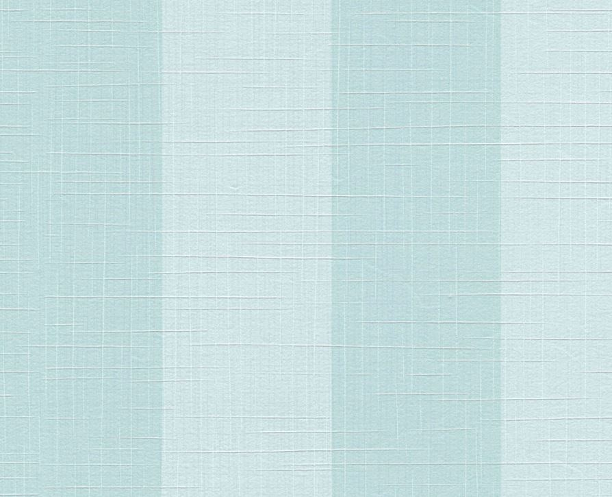 Wallpaper with vertical stripes green and blue on a geometric background Marina 12710-78.