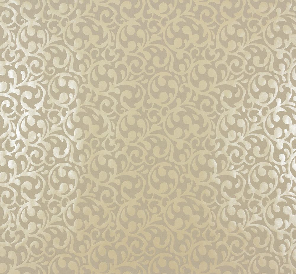 Parato Marburg damascato a rilievo lucido colore tortora ed ocra. Ornamental home - 55232.
